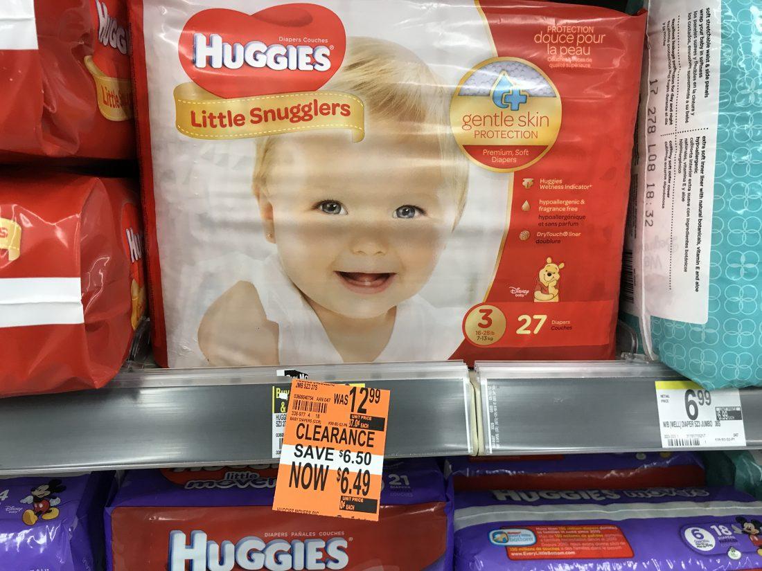 Huggies Clearanced Walgreens (2)