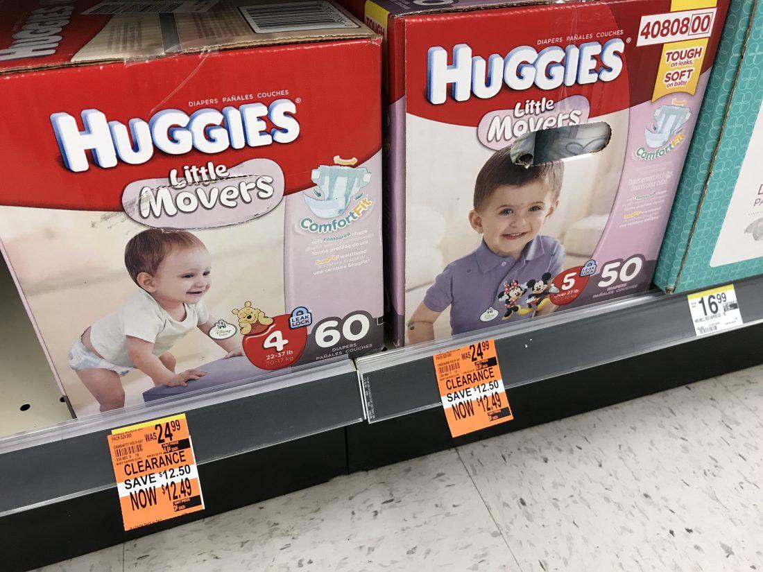 Huggies Clearanced Walgreens