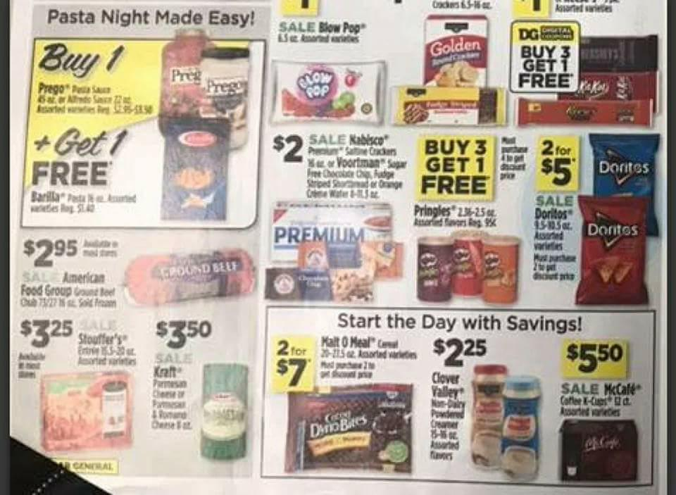 Dollar General Ad Scan Week 2 11 18 Page 2a