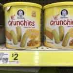 Gerber Lil Crunchies At Dollar General