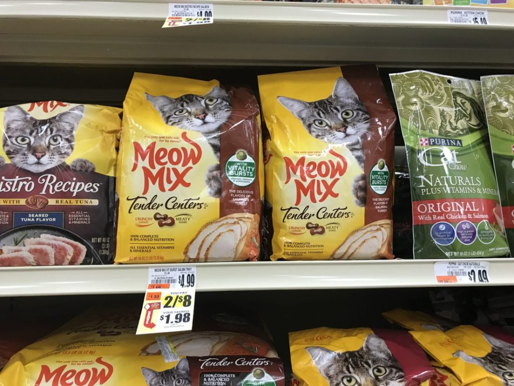 Meow Mix At Tops
