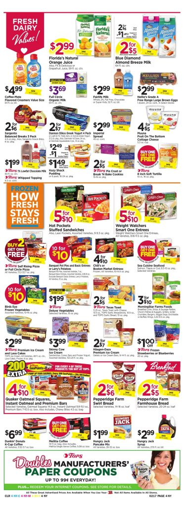 Tops Markets Ad Scan Week 2 11 Page 4