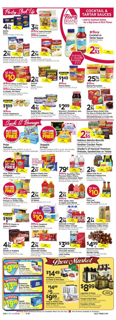 Tops Markets Ad Scan Week 2 11 Page 5
