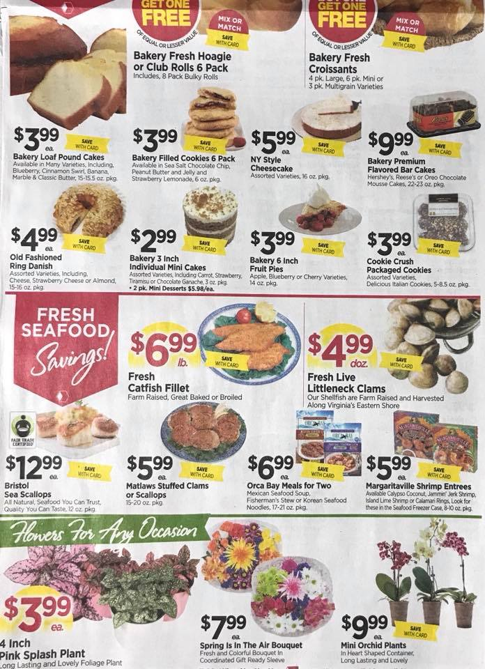 Tops Markets Ad Scan Week 2 4 18 Page 3b