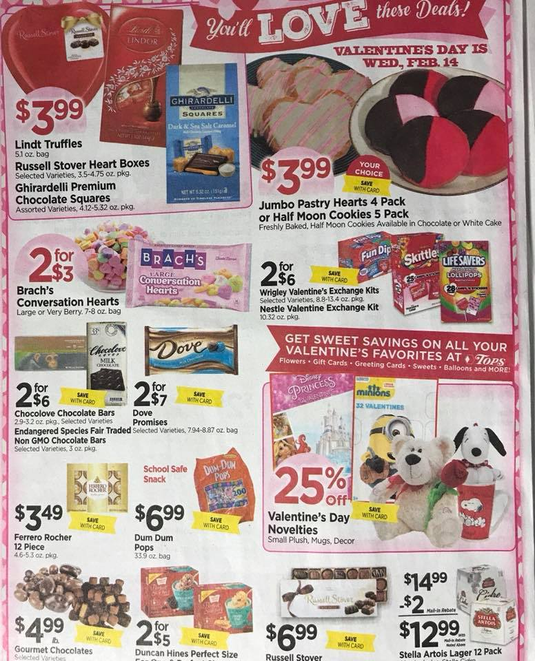Tops Markets Ad Scan Week 2 4 18 Page 6a