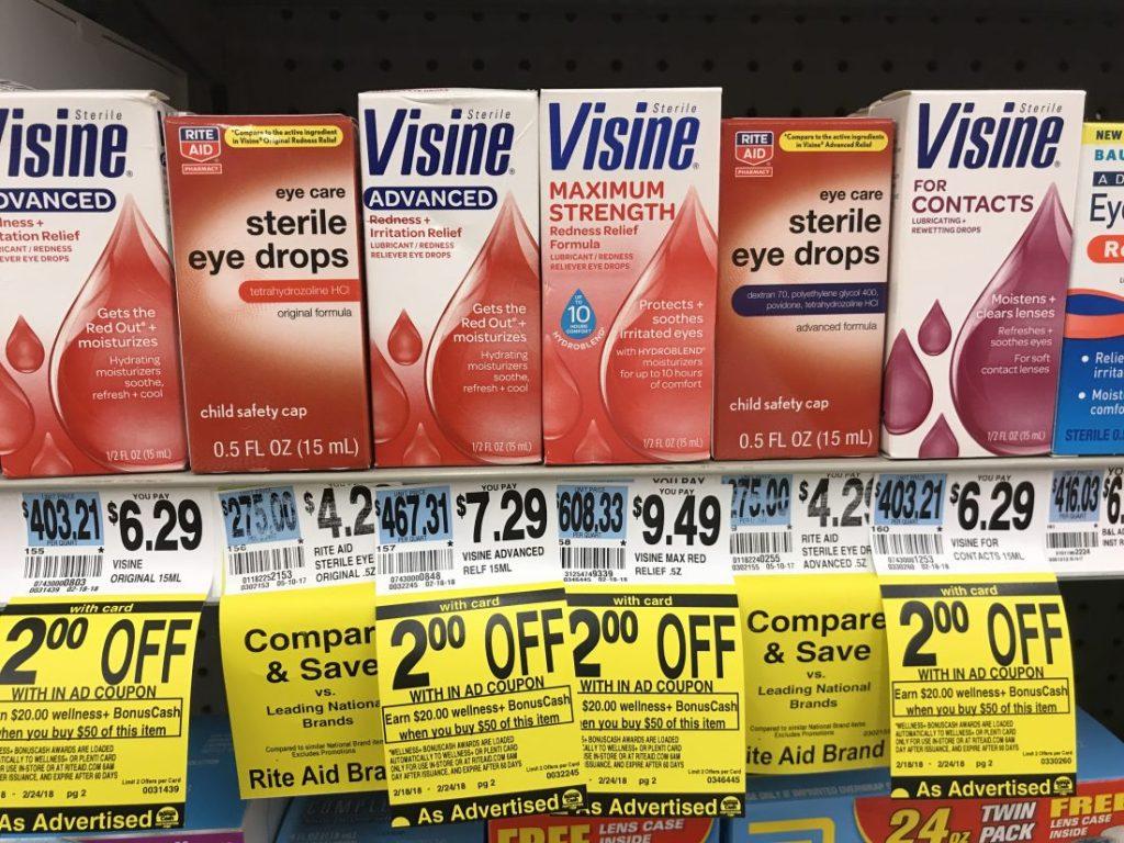 Vicine At Rite Aid