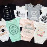 Whitty & Cute Baby Bodysuits