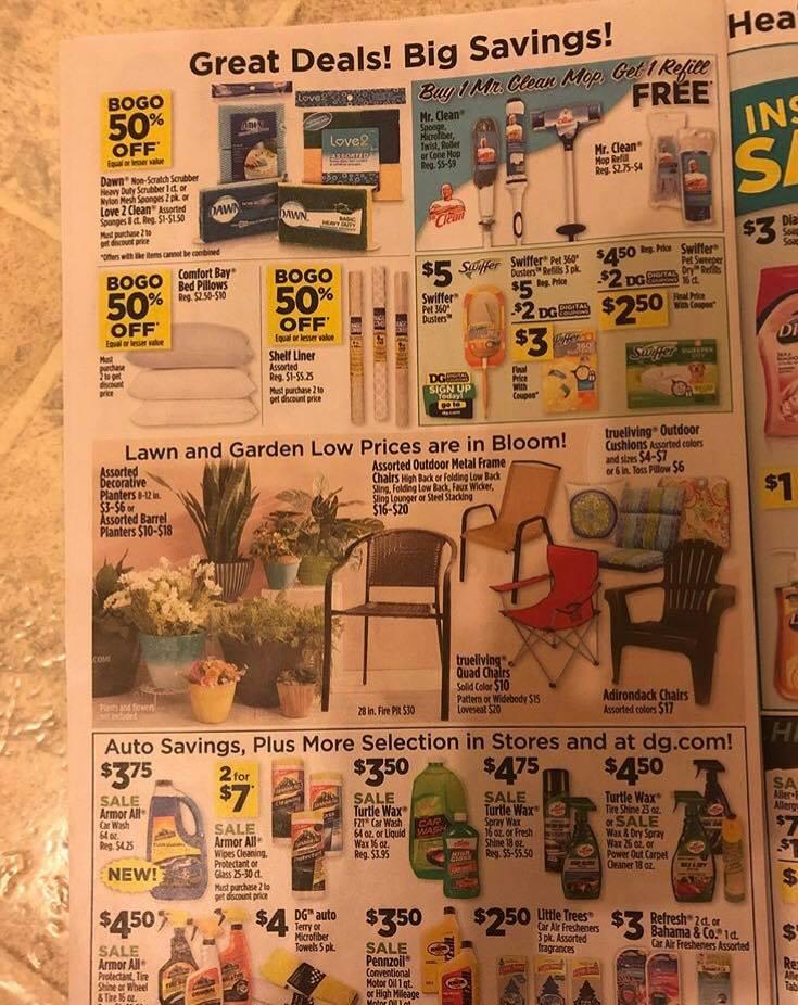 Dollar General Ad Week 3 18 Page 2