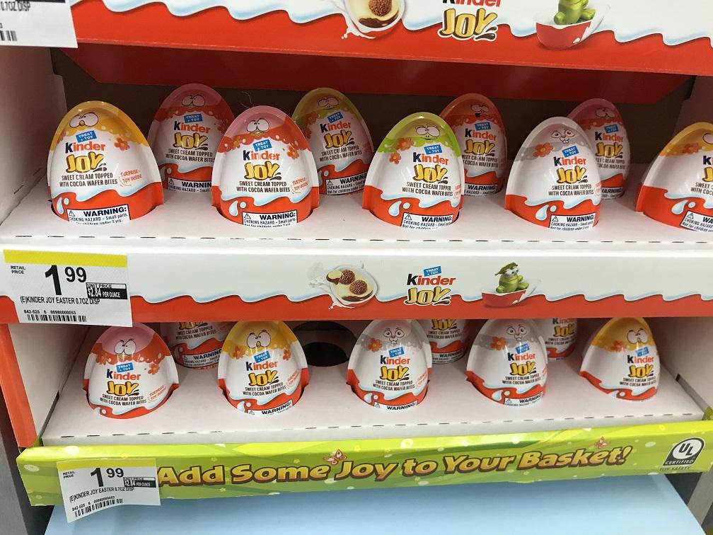 Kinder JOY Single Eggs At Walgreens