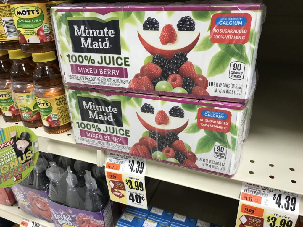 Minute Maid At Tops Markets