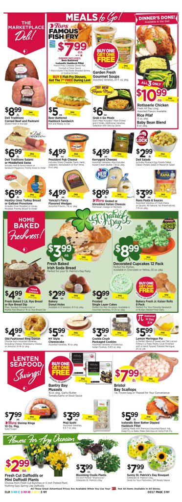 Tops Markets Ad Preview Week 3 11 18 Page 3