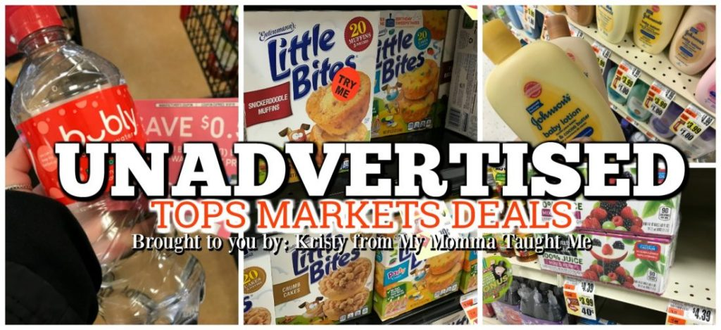 Tops Markets Unadvertised Deals Week 3 11 18