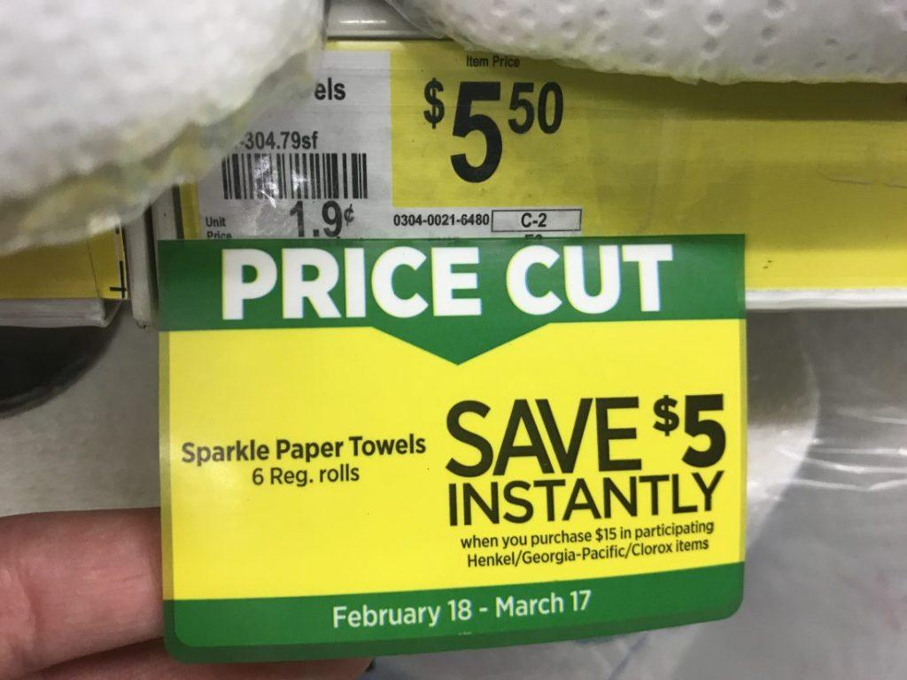 Sparkle Instant Savings