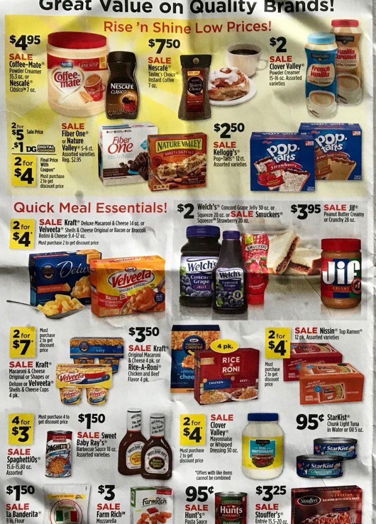 Dollar General Ad Week 4 15 18 P2