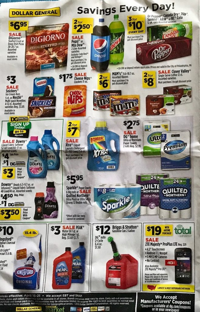 Dollar General Ad Week 4 15 18 P8
