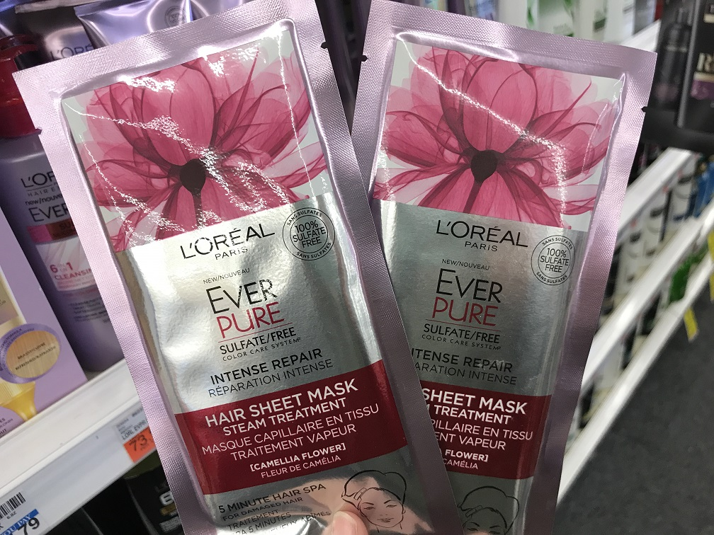 L'Oreal Ever Pure Masks