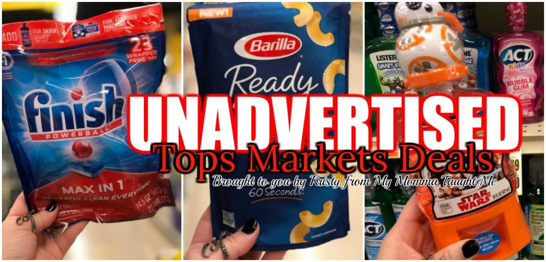 Tops Unadvertised Deals Week 4 15 18