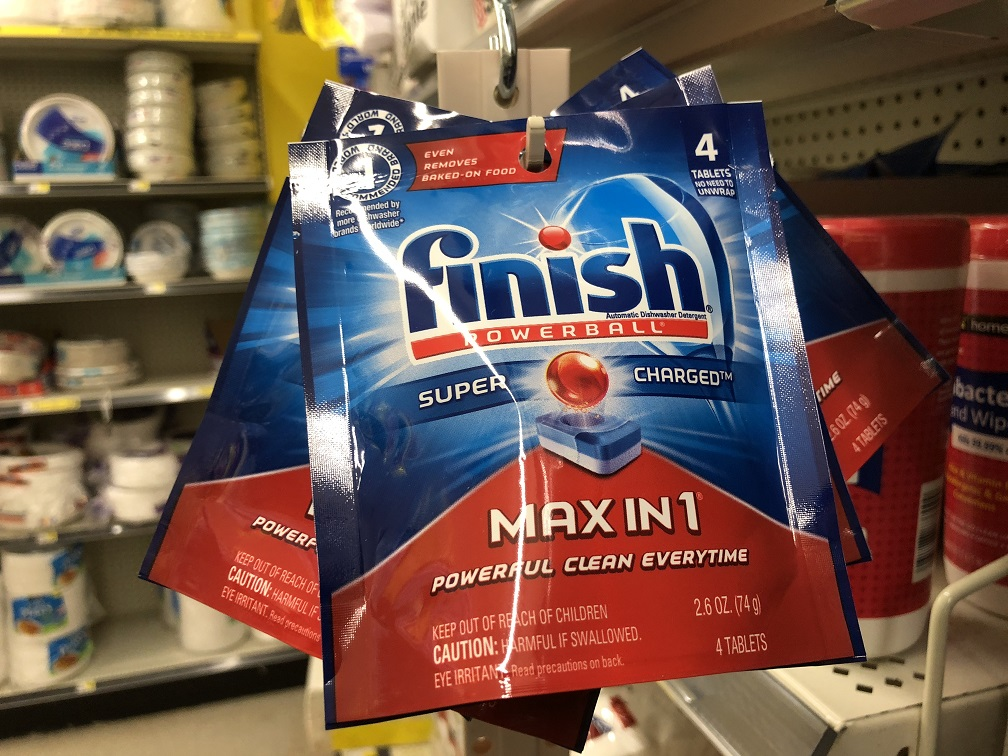 FREE Finish Max in 1 at Dollar General