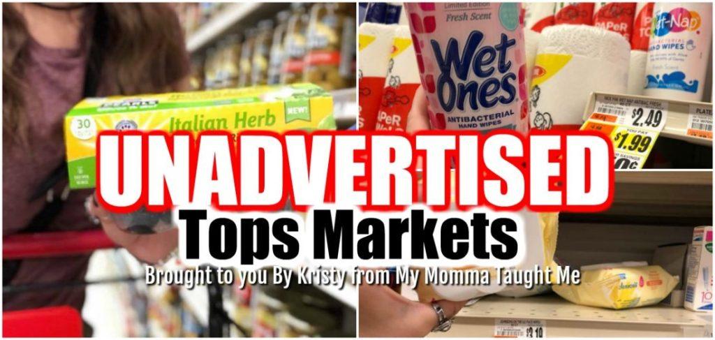 Tops Unadvertised Deals Week 5 13 18