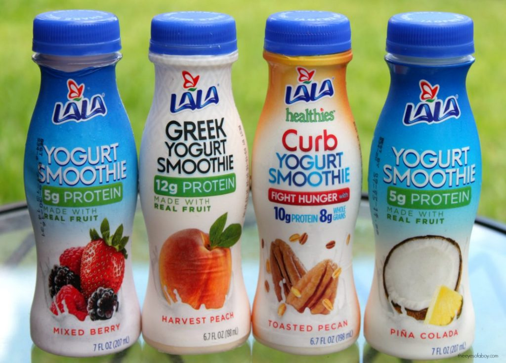 LALA Yogurt Smoothies TheEyesofaBoy Com