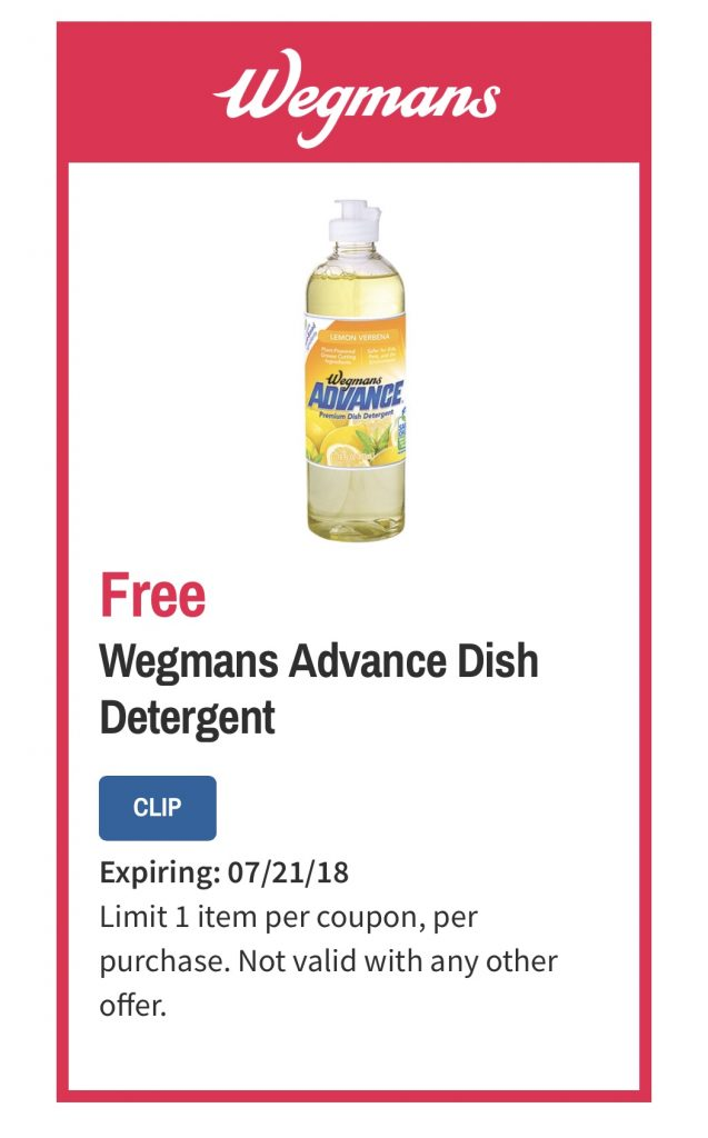 Wegmans Advance Dish Soap