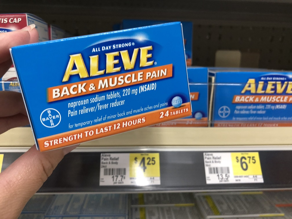 Aleve Back And Muscle
