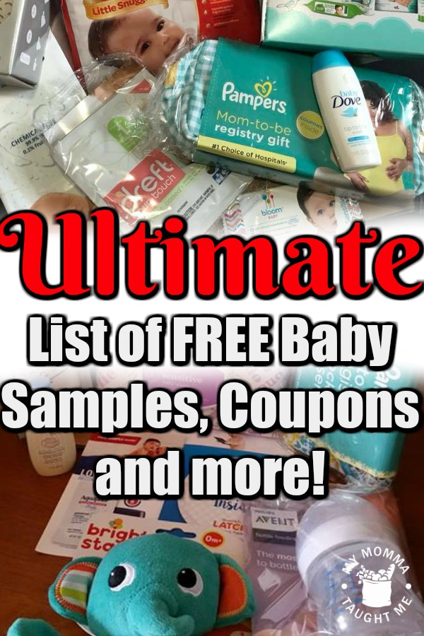 Ultimate List Of Free Baby Samples, Coupons And More!