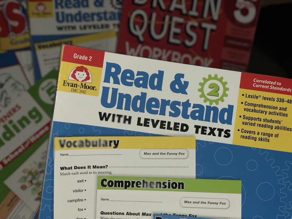 Evan Moor Book Reading And Understanding
