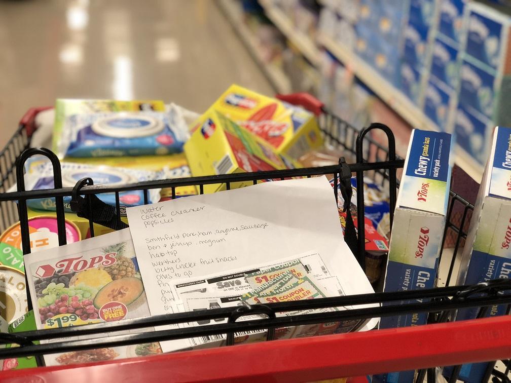 Tops Markets Shopping Cart