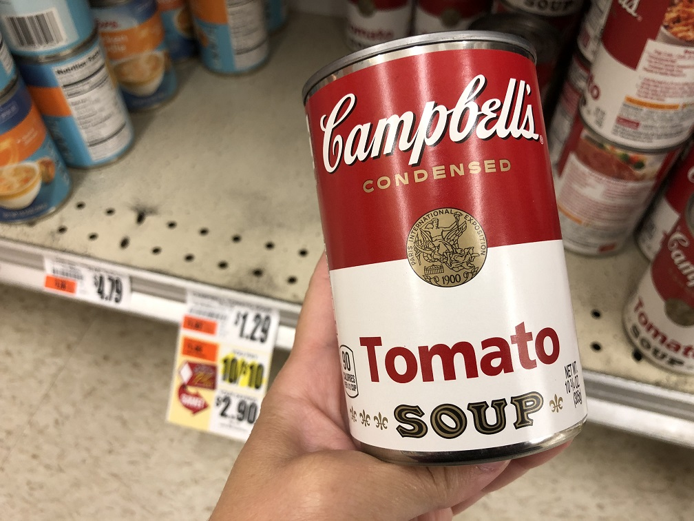 Campbells Condensed Soups At Tops