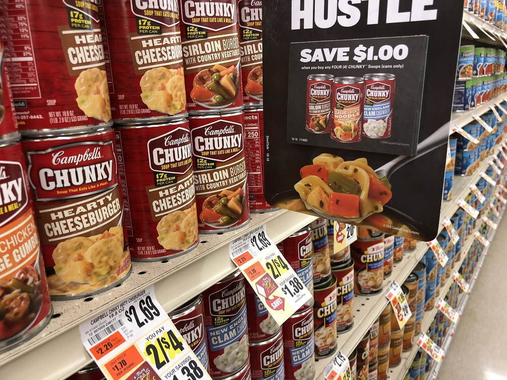 Campbells Chunky Soup Sale And Tear Pad Coupon
