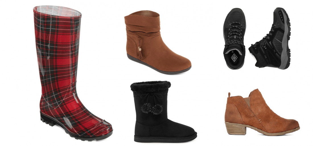 Women's Boots Under $17, Kids Boots Under $14, Men's Boots Under $27 with this Buy One Get TWO Free Sale!