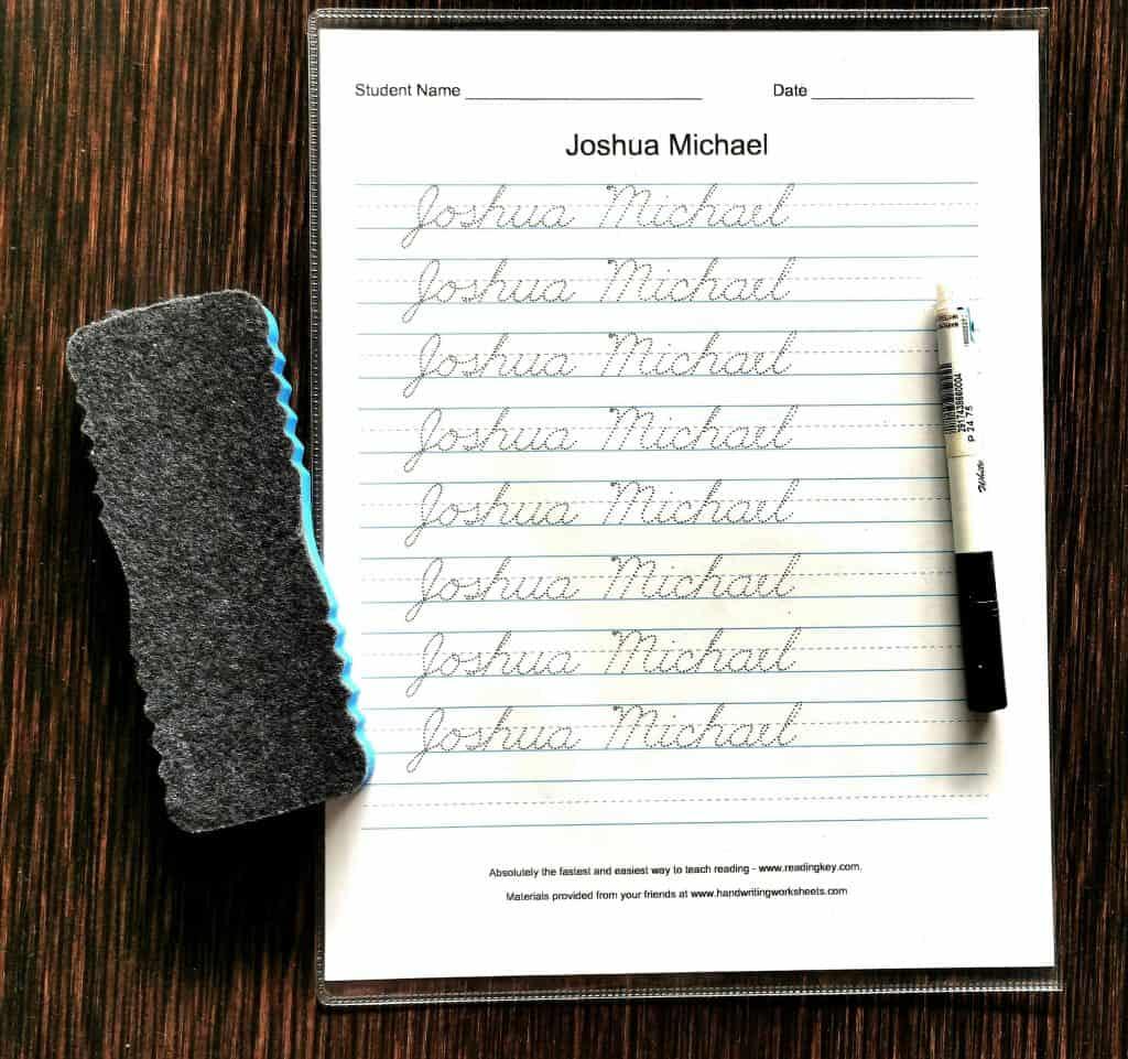 Diy Handwriting Worksheets To Make Penmanship Fun