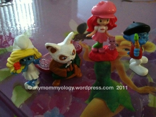 My Mommyology Happy Meal Toys