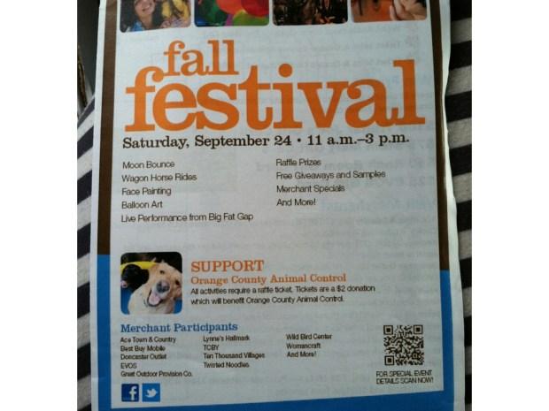 My Mommyology Fall Festival