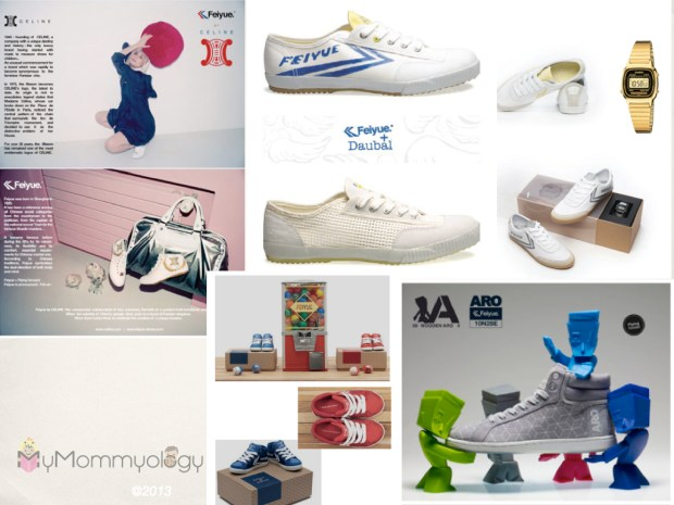 These are just some of the many collaborations Feiyue has done over the years.