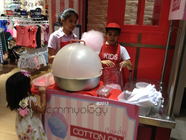 Free Cotton Candy!