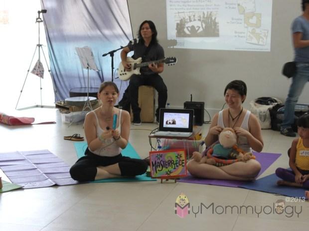 The dynamic teaching trio :)