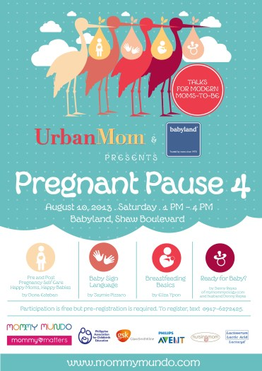 The Mommy Mundo Pregnant Pause Poster