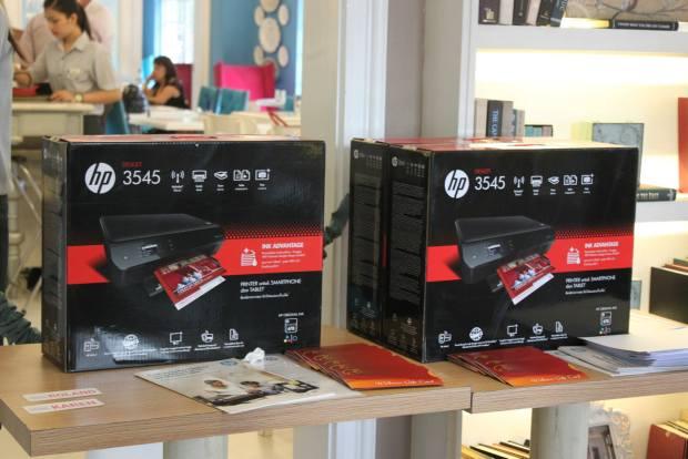 The economical HP Deskjet Ink Advantage 5525-e All In One Printer!