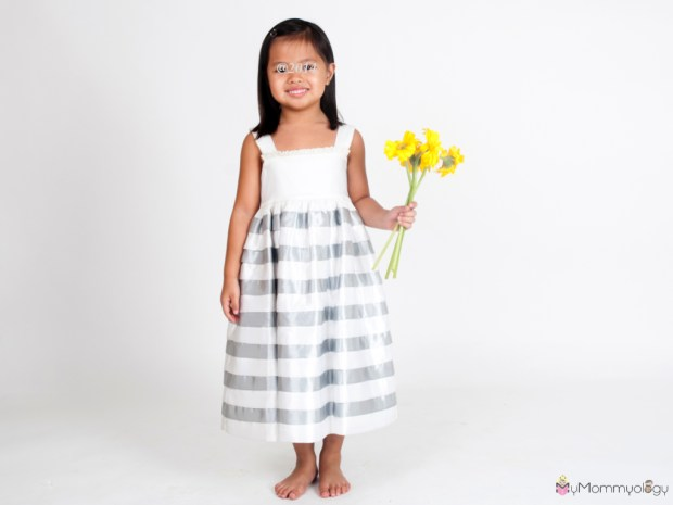 Another lovely dress for special occasions!  Photo Credit:  Ines Moda Infantil