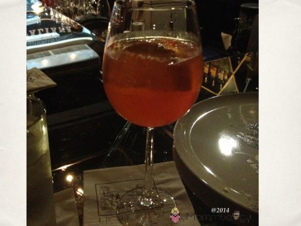 The Ponti Spritz.  Pretty refreshing!