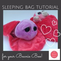 Cuddly sleeping bag tutorial