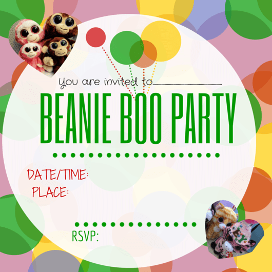 MY MONDAY MAKES - Beanie Boo party ideas - MY MONDAY MAKES