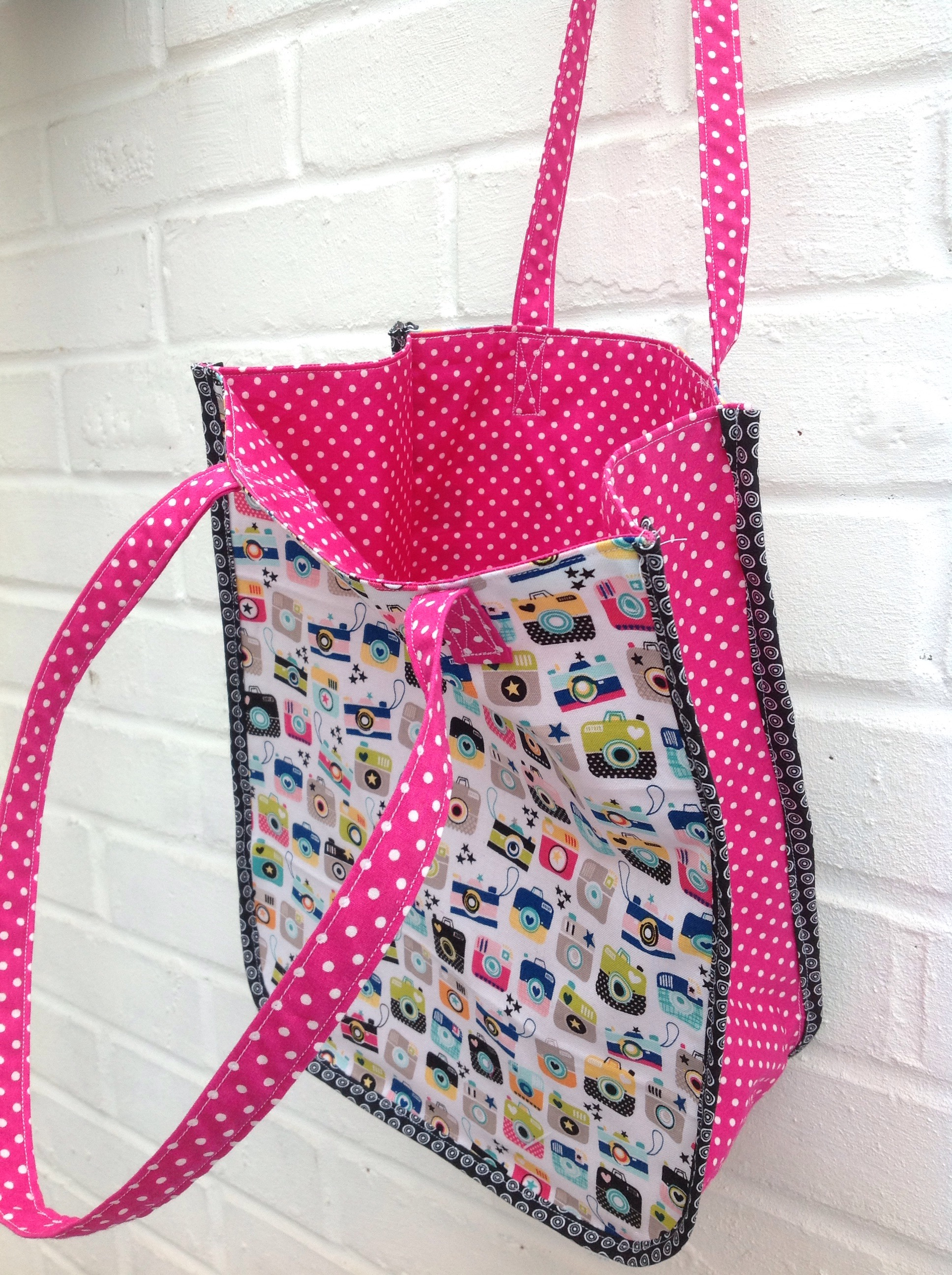 MY MONDAY MAKES Sew an 'Instamatic' Tote Bag free