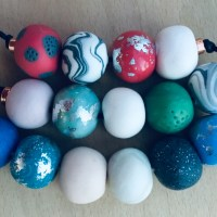 Statement bead necklace: 10 tips for making polymer clay beads