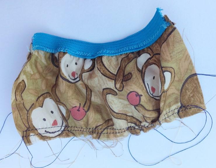 Pocket of dog treat bag