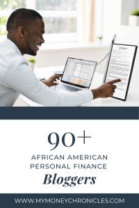 Black personal finance bloggers
