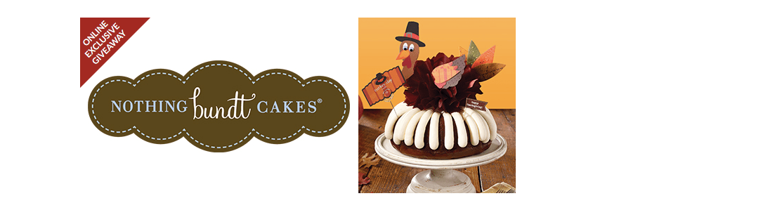 Nothing Bundt Cakes Sweepstakes