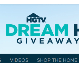Enter Code HGTV Dream Away With $20K Sweepstakes